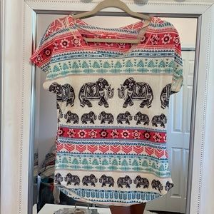 Tops - Elephant Top - Size M